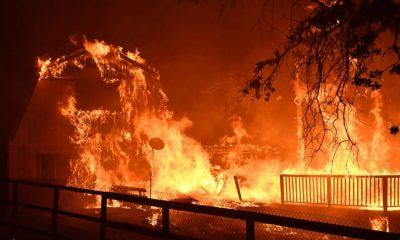 fire California global warming
